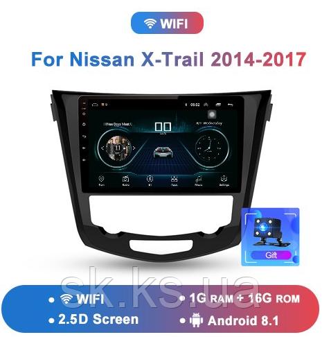 Junsun 4G Android магнитола для Nissan x-Trail X Trail Qashqai 2014-2017 wifi