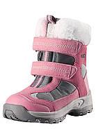 Зимние ботинки для девочки Reimatec Kinos 569325-4320. Размеры 25 - 35.