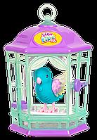 Интерактивная птичка в клетке Skye Twinkles Little Live Pets MOOSE, фото 1