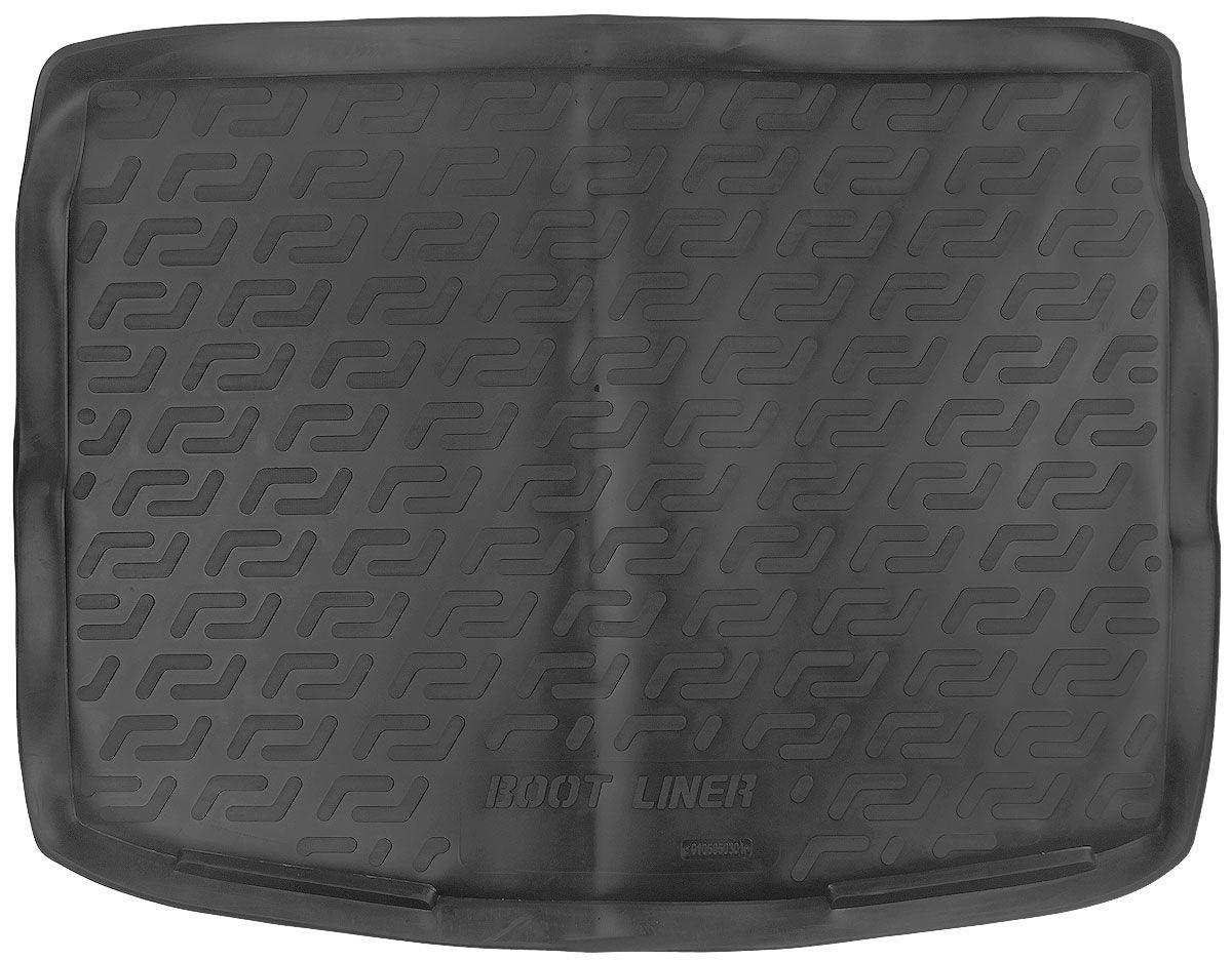 Коврик в багажник для Nissan Qashgai (J11) (14-) полиуретановый 105050301