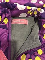 Комбинезон для девочек на флисе оптом (куртка +комбинезон), Taurus, 98-128 рр.,DL-613, фото 4