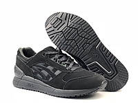 Кроссовки мужские в стиле Asics Gel Respector код товара 4S-1113. Черные