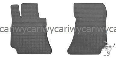 Коврики резиновые в салон Mercedes W 212 E 09-/C 218 CLS 11- 2шт. Stingray