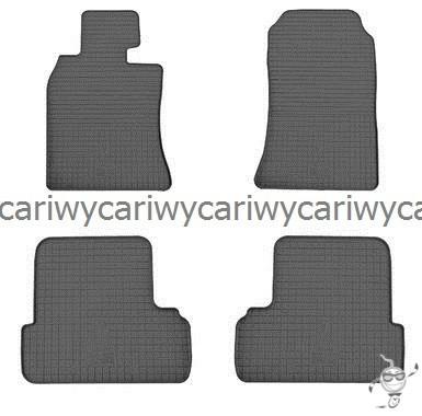 Коврики резиновые в салон Mini Cooper I (R50/52/53) 01-/ Cooper II (R55/56/57) 06- 4шт. Stingray
