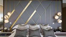Фигурные мягкие стеновые панели