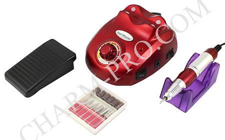 Маникюрный фрезер ZS-603 15W/25000 об. (красный)