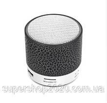 Mini speaker MP3 колонка Bluetooth з підсвічуванням Чорний