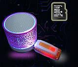 Mini speaker MP3 колонка Bluetooth з підсвічуванням, фото 3