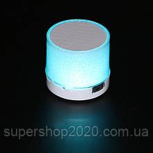 Mini speaker MP3 колонка Bluetooth з підсвічуванням