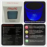 Mini speaker MP3 колонка Bluetooth з підсвічуванням, фото 9