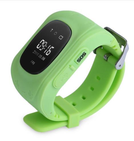 Смарт-часы UWatch Q50 Kid smart watch Green УЦЕНКА (270915)