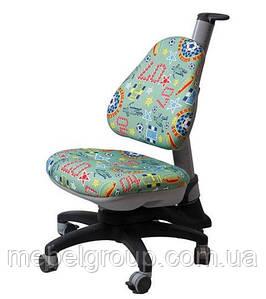 Детское ортопедическое кресло Comf-Pro ROYCE KY-318 зеленый футбол
