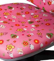 Детское ортопедическое кресло Comf-Pro ROYCE KY-318 розовый цветы, фото 3