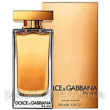 Духи Дольче Габбана зе ван женские Dolce Gabbana The One 100 ml EDT (лиц.) аромат парфюм запах парфюм