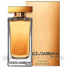 Женская туалетная вода Dolce & Gabbana The One 100 мл (реплика)