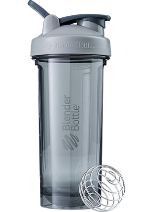Спортивная бутылка-шейкер BlenderBottle Pro28 Tritan 820ml Grey (ORIGINAL) , фото 2