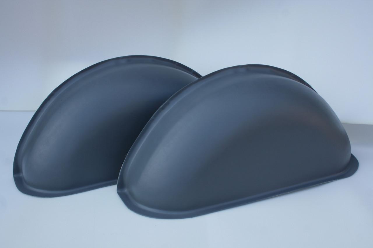 Накладки на колесные арки в Mercedes-Benz Vito 639 (Мерседес-Бенц Вито 639) цвет серый