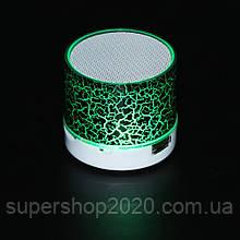 Mini speaker MP3 колонка Bluetooth з підсвічуванням Зелений