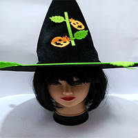 Шляпа Ведьмы, колпак с тыквами - аксессуар для вашего образа