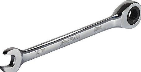 Ключ комбинированный с трещоткой, CRV 13мм Miol 51-613, фото 2