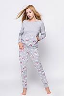 f9d0ff89715ea Молодежная пижама из хлопка высокого качества.Польша.Sensis Happy Owl
