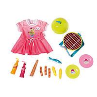 Одежда и набор аксессуаров для барбекю для куклы BABY BORN (824733)***