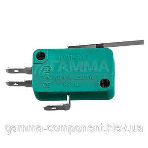 Микропереключатель KW1-103-3, 10A, 250VAC
