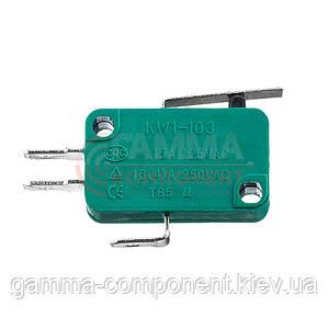 Микропереключатель KW1-103-2А, 10A, 250VAC