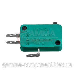 Микропереключатель KW1-103-1, 10A, 250VAC