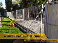 """Панельный забор для ограждения домов """"Кольчуга"""", фото 1"""
