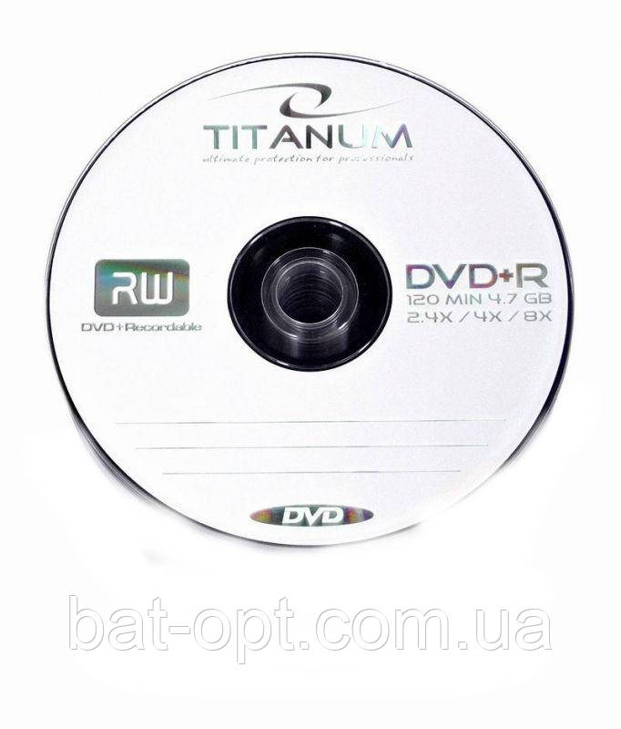 Диск Titanum DVD+R 4.7Gb 16xbulk 10
