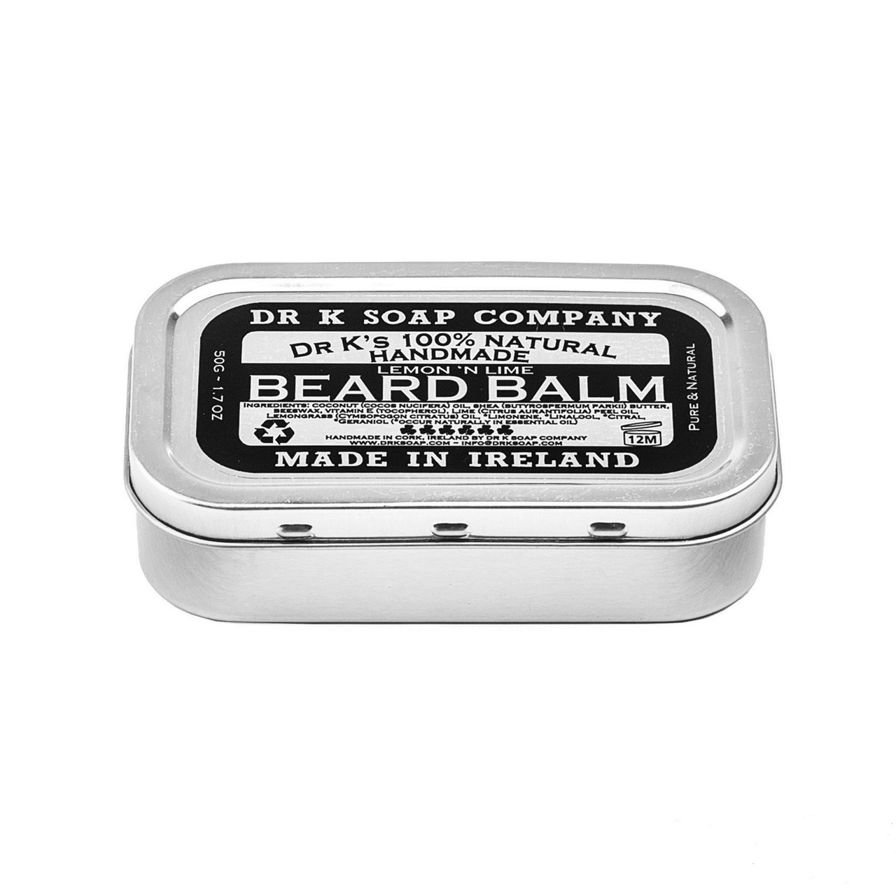 Бальзам для бороды DR. K. Beard Balm Lemon & Lime 50 г