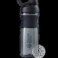 Спортивная бутылка-шейкер BlenderBottle SportMixer Twist 820ml Black (ORIGINAL), фото 1
