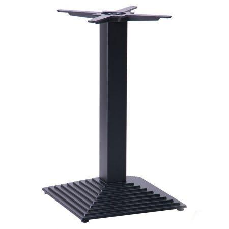 Опора для стола - База Пирамида (TB117) Черная