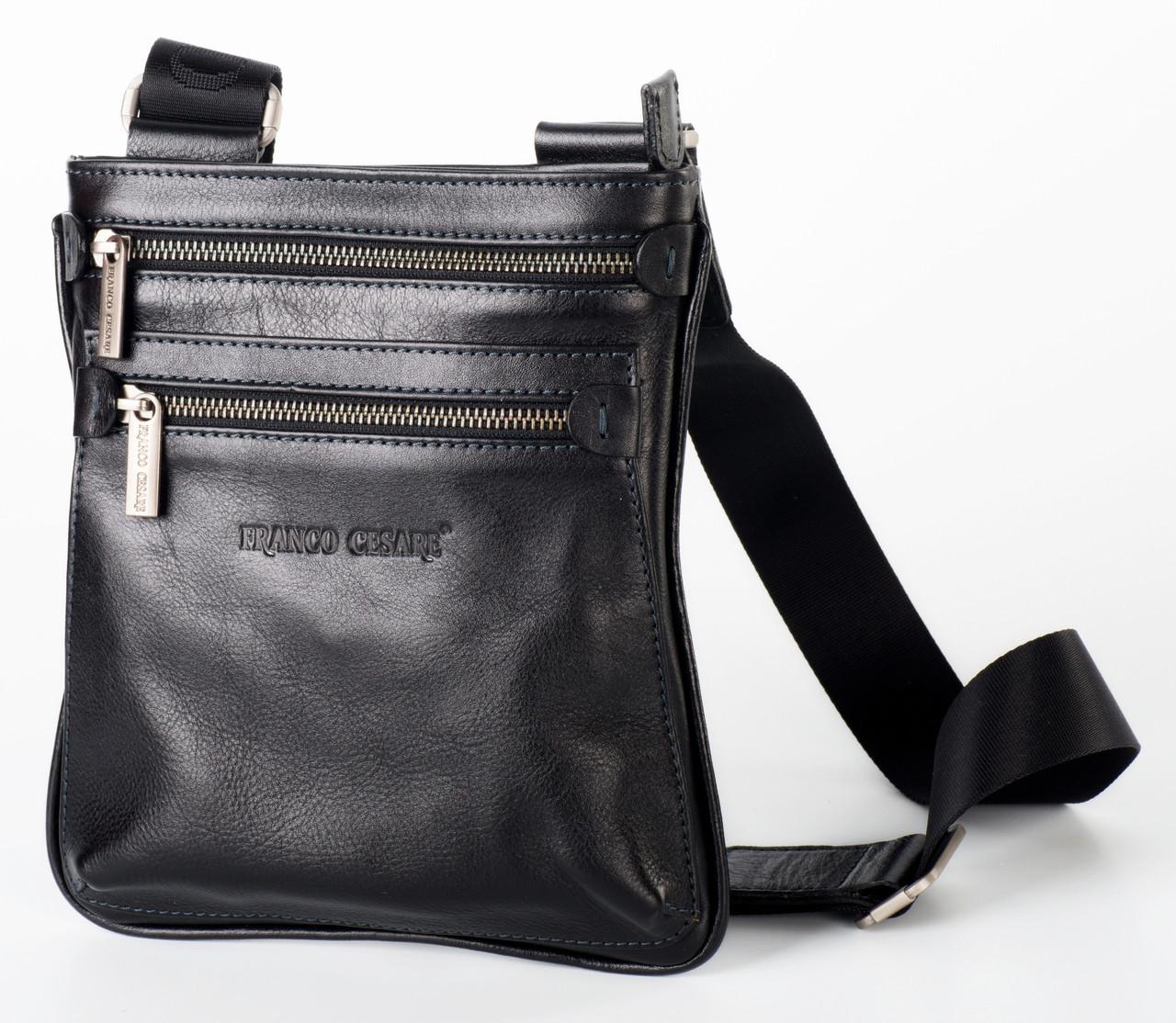 c01c8d6fd177 Черная кожаная наплечная сумка FC-0311-L1, цена 2 910 грн., купить в ...