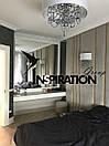 Мягкие стеновые панели в сочетании с металлом, деревом, зеркалом и пластиком , фото 7