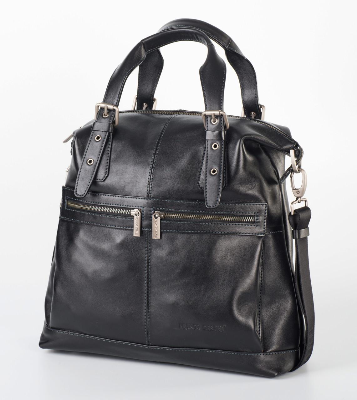 f1a0730544a8 Мужская кожаная мягкая сумка от Franco Cesare FC-0415-L1 - FrancoCesare в  Николаеве