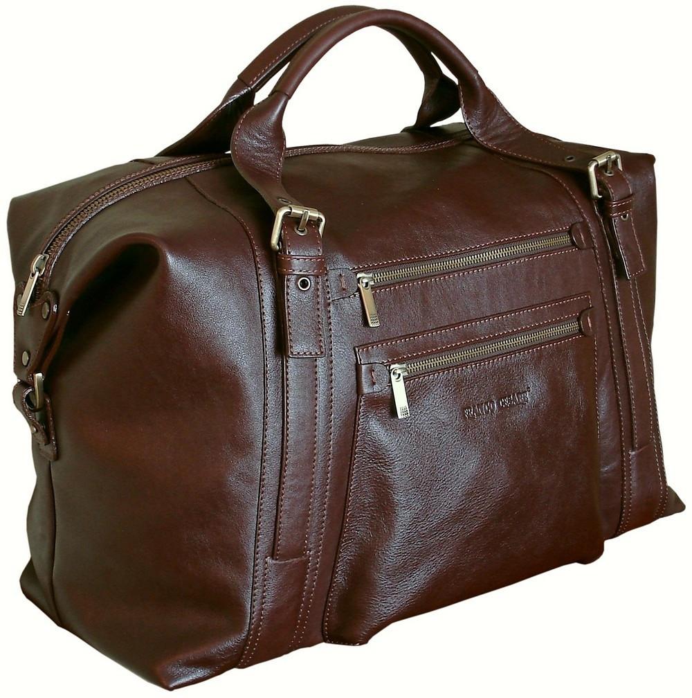 895ddc468e10 Кожаная вместительная дорожная сумка FC-0811-L2 - FrancoCesare в Николаеве