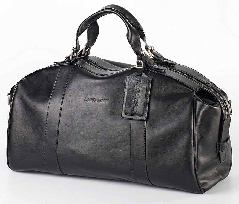 Стильная дорожная сумка из натуральной кожи   FC-0810-L1 бренда FRANCO CESARE