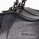 Стильная дорожная сумка из натуральной кожи   FC-0810-L1 бренда FRANCO CESARE, фото 2
