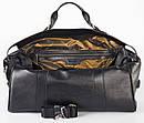 Стильная дорожная сумка из натуральной кожи   FC-0810-L1 бренда FRANCO CESARE, фото 4