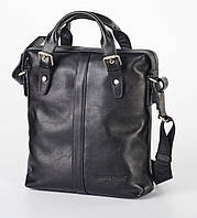 Мягкая мужская сумка из натуральной кожи  FC-0414-L1