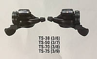 Манетки TS38-6 ( 3х6 скор.)MICRO-SHIFT, Автоматы 18 скор