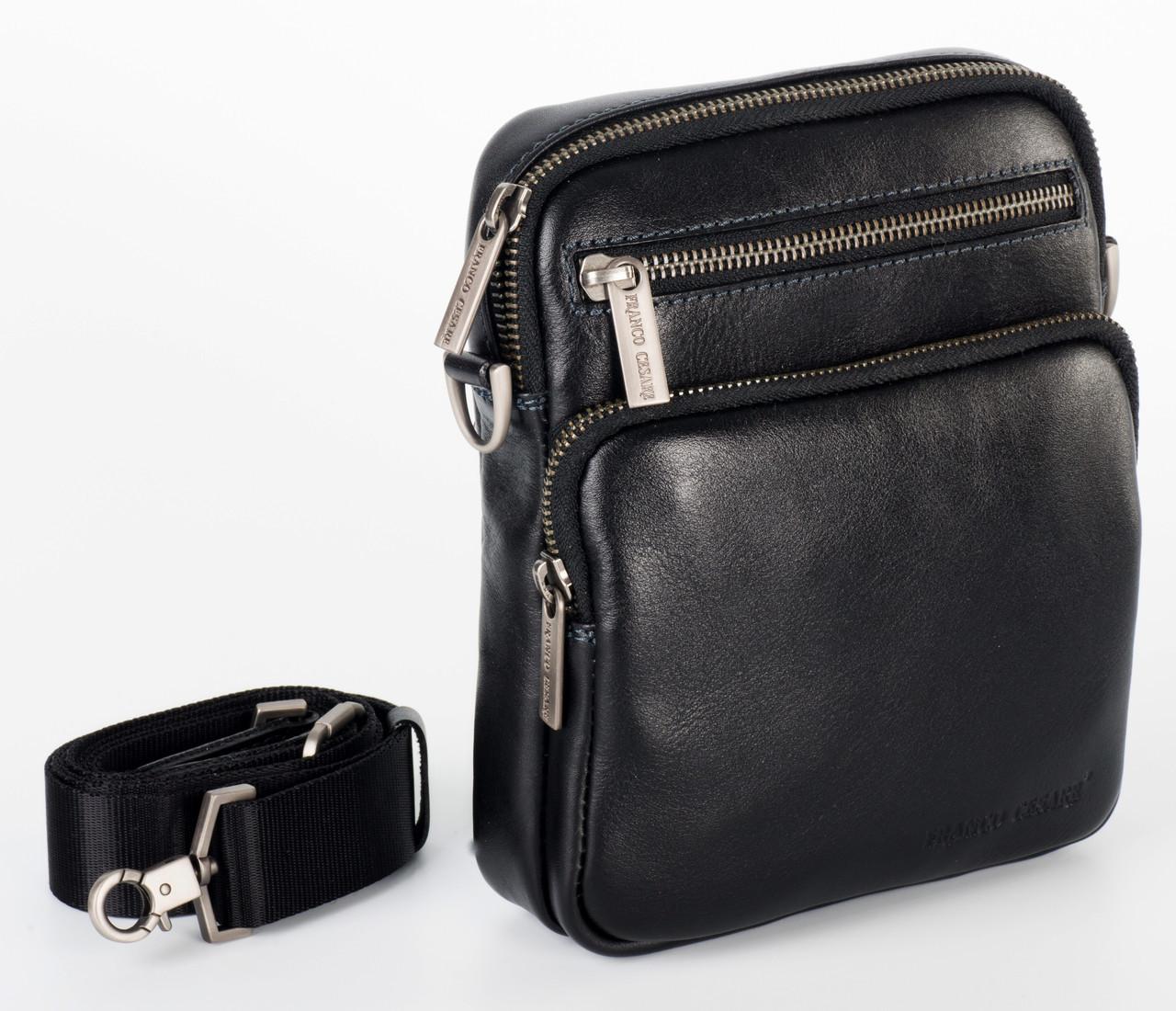 Кожаная малая сумка  FC-0359-L1 бренда FRANCO CESARE