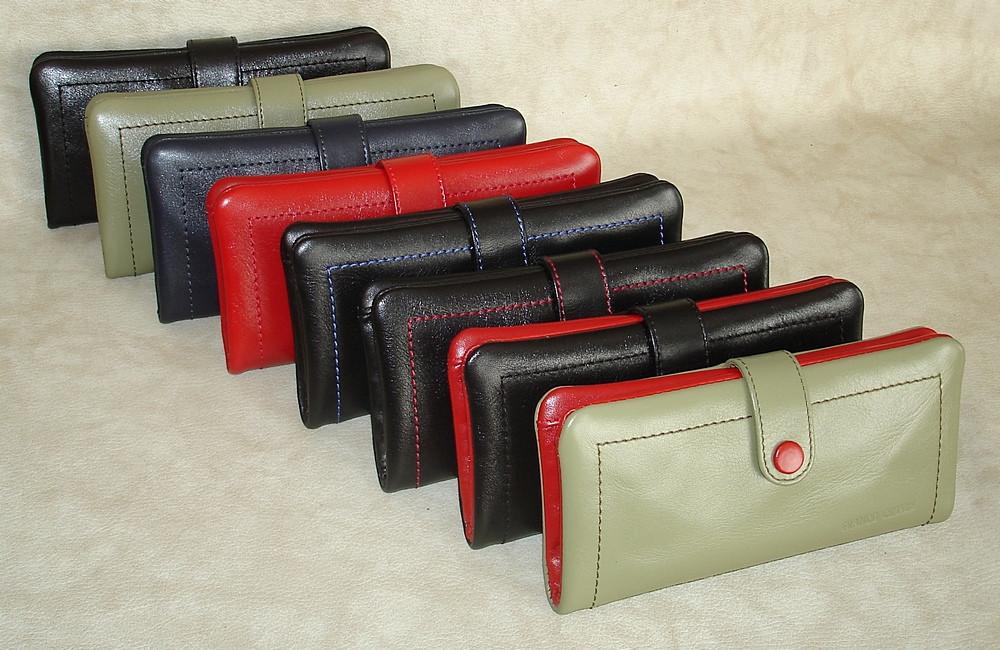 Кожаный женский клатч-кошелек FC-0221-L бренда FRANCO CESARE