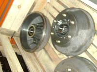 Ступица колеса ГАЗ 3309 переднего правая (бараб., подш.)(под АБС) в сб. (пр-во ГАЗ)