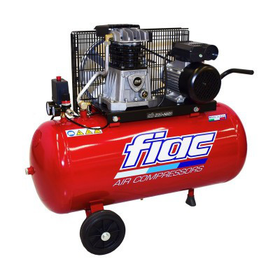 Компрессор поршневой FIAC AB 100-360 T(380V)  (ресивер 100 л, пр-сть 350 л/мин)