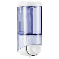 Дозатор жидкого мыла 0.17 л, белый / прозрачный, пластик. A58301