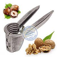Орехокол Щелкунчик Алюминий (до 5 кг/час) для очистки грецкого ореха. Бюджетный вариант стальной модели