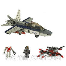 Конструктор KRE-O игровой набор Атака с воздуха (Battleship Air Assault) 38975 - 225 деталей